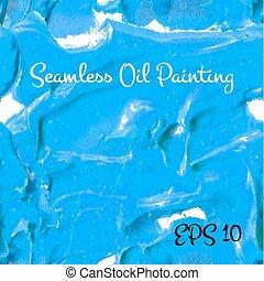 Blue acrylic seamless painting