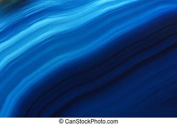 blue agate gem background (macro, detail)