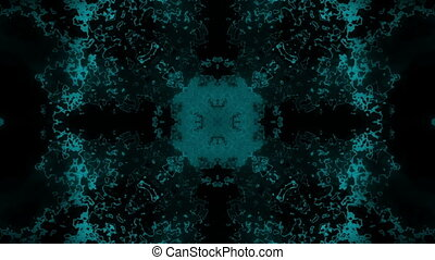 Blue and black abstract texture animated background loop