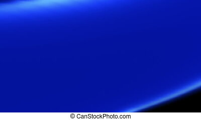 Blue and black rolling abstract animated background