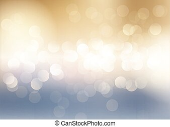 blue and gold bokeh lights background 2401