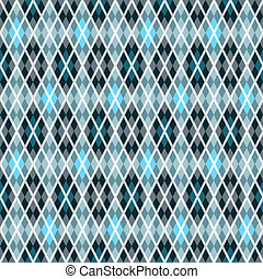 Blue and gray seamless pattern - Blue and gray seamless...