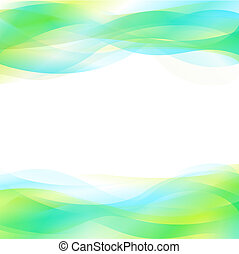 Blue And Green Abstract Background - Blue & Green Dynamic ...