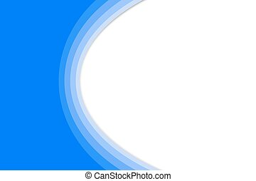 Blue and Green Abstract Background with Copy Space
