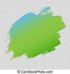 Blue And Green Blob Banner