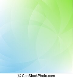 Blue And Green Nature Background