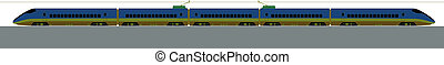 blue and green train - Japan.Shinkansen is world's busiest...