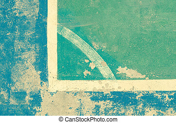 Blue and green vintage texture background