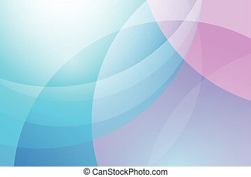 Blue and pink abstract vector background
