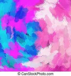 blue and pink painting texture
