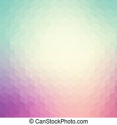 Blue and purple geometric pattern background