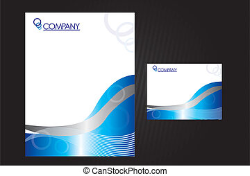 corporate image - blue and silver papers corporate image ...