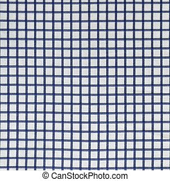 Blue And White Gingham Tablecloth