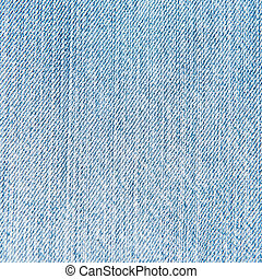 Blue and white jean. Macro abstract background