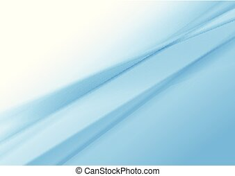 Blue and white smooth gradient striped abstract background