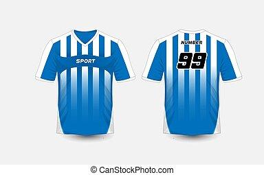 05420759e Black and white stripe pattern sport football kits