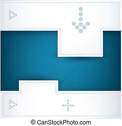 blue and white vector background