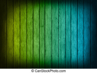 blue and yellow wood panels texture background - blue and...