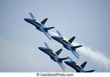 Blue Angels - Ft Lauderdale air show