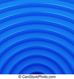 Blue arcs