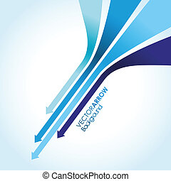 blue arrow line background