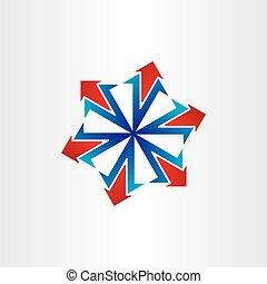 arrows spread out icon