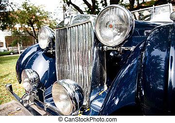 blue autó, klasszikus
