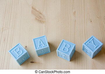 Blue Baby Blocks