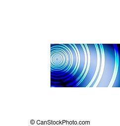 blue backdrop design