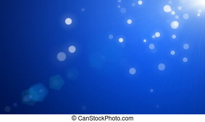 Abstract blue motion background (seamless loop)