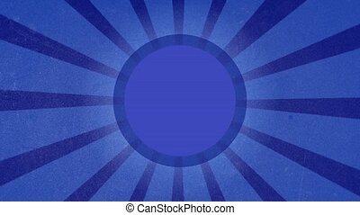 Blue background composition under.