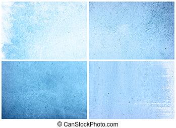 blue background in grunge style
