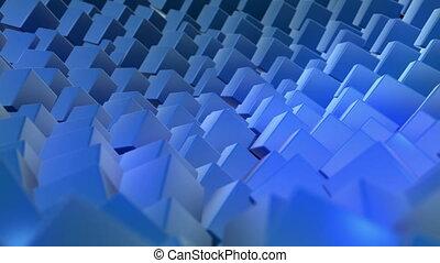 Blue background, loop seamless
