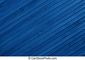 Blue background of bamboo in the color of year