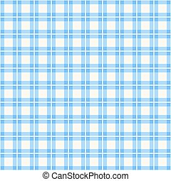 Blue background of plaid pattern