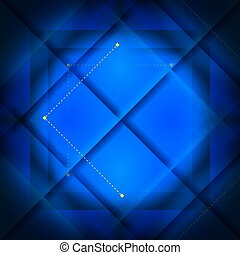 Blue Background Square
