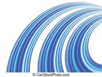 Blue Background. Vector illustration