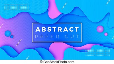 blue background with abstract element