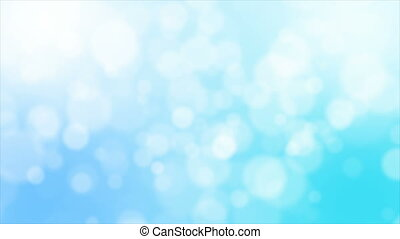 Blue background with bokeh