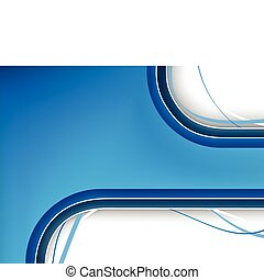Blue Background with copyspace. Editable Vector Image