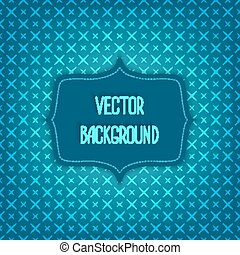 blue background with geometric seamless pattern