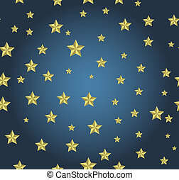 blue background with gold stars