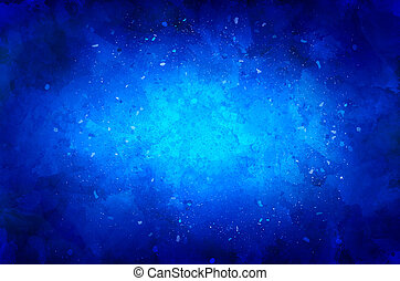 blue background with particles and texture