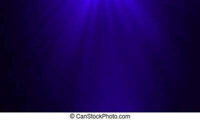 Blue background with rays of light