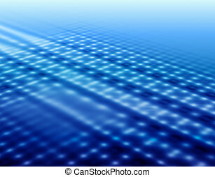 Blue background with reflections