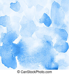 Blue background with stains