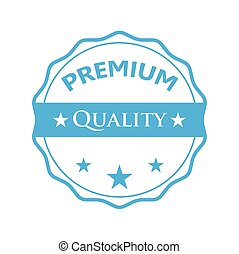 Blue badge - Premium quality