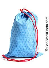 Blue bag for footwear
