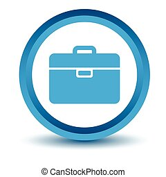 Blue bag icon