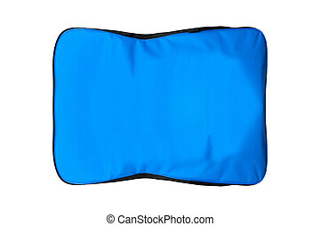 Blue Bag isolated on white